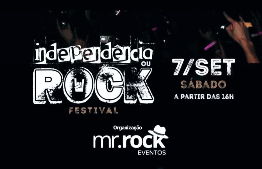 Independência ou Rock – Formiga/MG – 07/09/2019